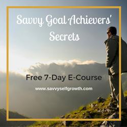 Savvy Goal Achievers Secrets E-Course