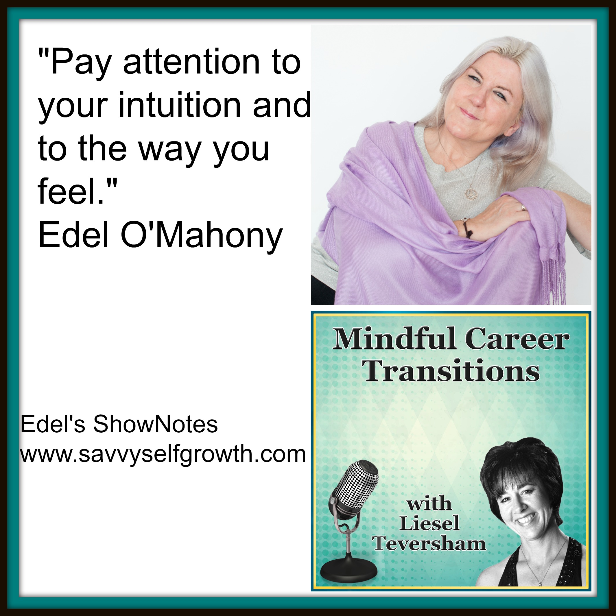 Tap into The Body's Wisdom for a Meaningful Career with Edel O'Mahony