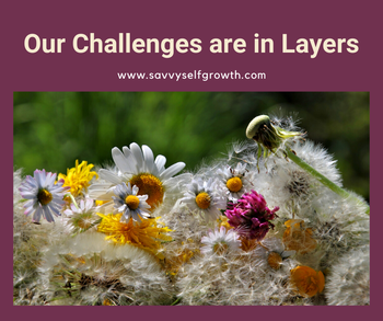 Our Challenges are made up of Layers