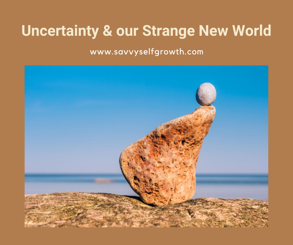 Uncertainty and the Strange New World we Live in