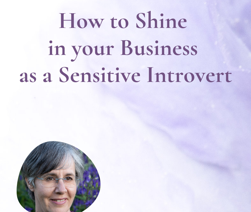 How to Shine in your Business as a Sensitive Introvert